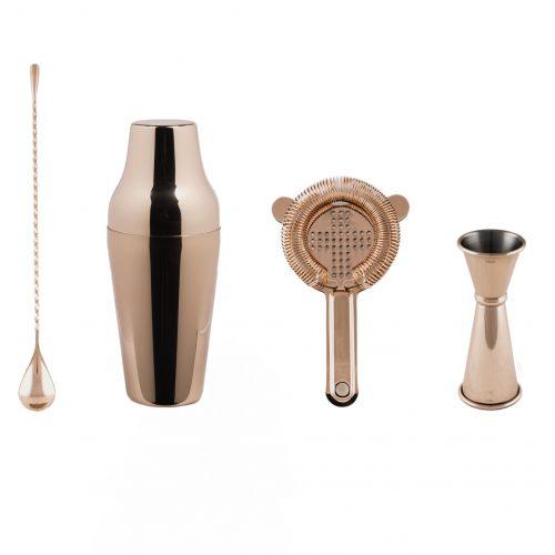 Cocktail Kit, Cocktail Shaker Set, Copper Barware, Cocktail Bar Tools, The Cocktail Shop, Australia