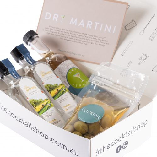 Dry Martini Cocktail Kit, Cocktail Subscriptions, The Cocktail Shop, Australia