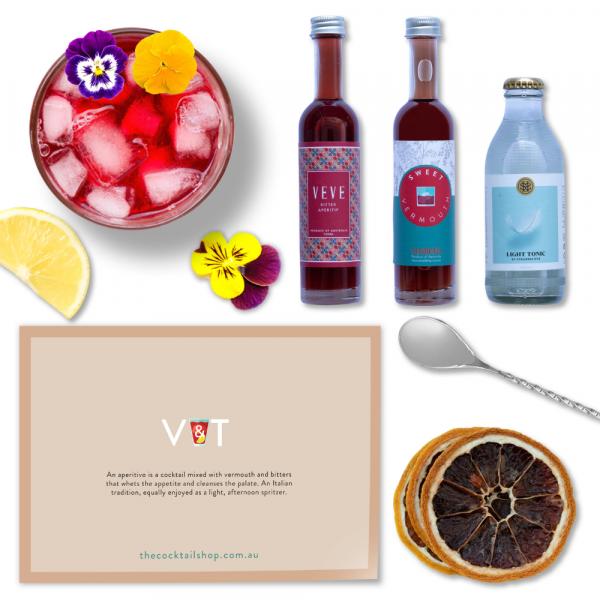 V&T Cocktail Kit, Aperitivo Spritz Cocktail Kits, Cocktails Delivered   The Cocktail Shop, Australia