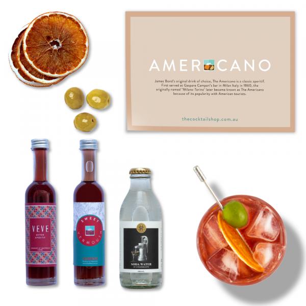 Americano Cocktail Kit, Aperitivo Spritz Cocktail Kits, Cocktails Delivered   The Cocktail Shop, Australia