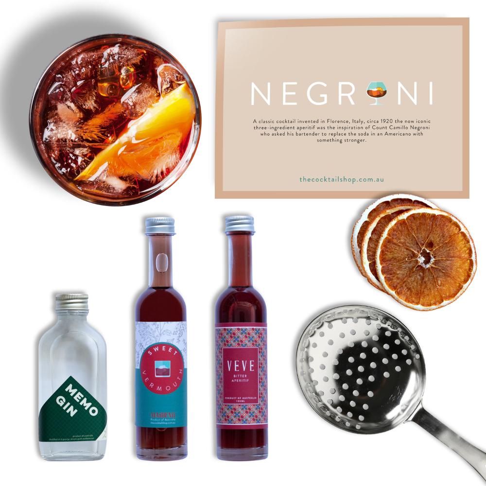 Negroni Cocktail Kit