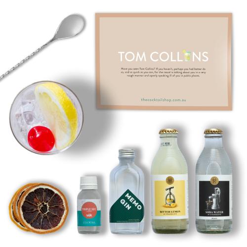 Tom Collins Cocktail Kit, Cocktail Kits, Cocktails Delivered | The Cocktail Shop, Australia
